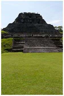 Xunantunich, Belize We climbed to the top :) The picture dosent even come close to showing it's size!