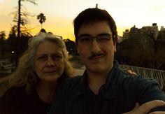 Para la mas grande! Te amo vieja gracias por aguantarme! #felizdia #madrespect #compañera