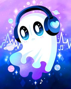 I felt like doing something nice and simple so drew my favourite character from Undertale, Napstablook! Undertale Music, Undertale Drawings, Undertale Fanart, Undertale Au, Funny Ghost, Cute Ghost, Black Phone Wallpaper, Kawaii Wallpaper, Coral Art