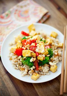 """I added """"Giveaway + Kung Pao Tofu Recipe 