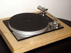 Lenco B55 light-platter turntable