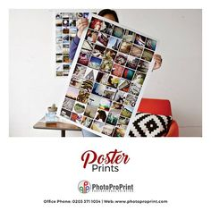 Do you want to get poster prints for your institution or business promotion? You are more than welcome to choose Photo Pro Print for best poster print. We offer best suitable and affordable cost.  Visit our website: http://www.photoproprint.com/ or Call us: 0203 3711034