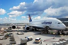 70 best ground handling images on pinterest airplanes apron and a380 lufthansa at apron gate after taxiing fandeluxe Images