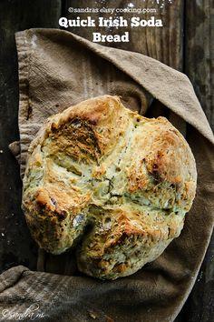 Quick Irish Soda Bread {recipe}