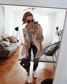 Jelena Karakas, Stripes, OOTD, cateye