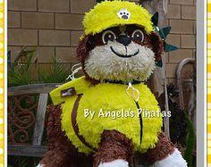 paw patrol ballon decorations | ... Made Piñata paw patrol birthday paw patrol party pinata decoration