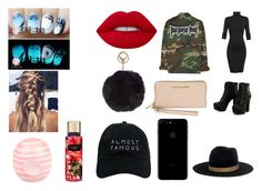 """Purpose Tour"" by misstateanna ❤ liked on Polyvore featuring Undress, Michael Kors, Janessa Leone, Nasaseasons, Humble Chic, Lime Crime and River Island"