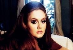 Beleza maquiagem delineador no concavo Adele