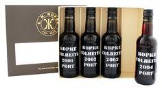 Kopke Port Giftset 4x0.2L 20% - Portugal