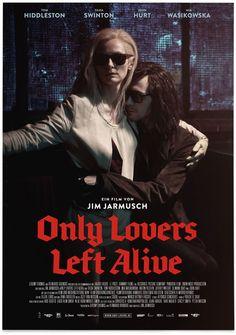 FF Brokenscript In-Use: Only Lovers Left Alive by FontFont , via Behance