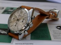 Watches Ideas Rolex Chronograph (pre-Daytona) ref. 6238 Discovred by : Todd Snyder Vintage Rolex, Vintage Watches, Cool Watches, Watches For Men, Panerai Straps, Breitling Watches, Rolex Daytona, Luxury Watches, Chronograph