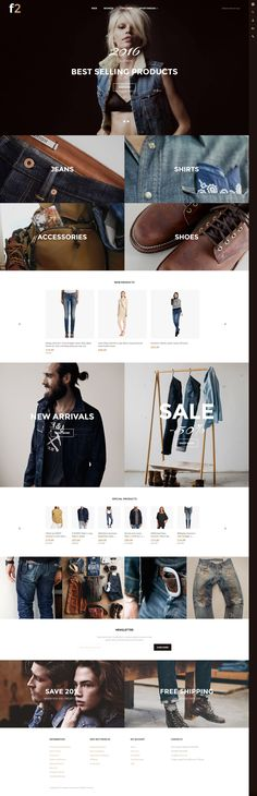 F2 Free Magento Theme from TemplateMonster Compared to Luma http://www.templatemonster.com/magento-themes/57559.html?utm_source=pinterest&utm_medium=tm&utm_campaign=57559