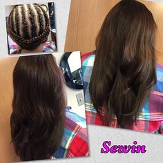 """Sewin Weave by our stylist/14"""" Medium Brown/Visit us online for more hair options www.hairsplendor.com Before After Hair, Beauty Supply, Medium Brown, Weave, Hair Beauty, Stylists, Long Hair Styles, Hair Lengthening, Long Hairstyle"""