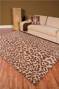 Animal print rugs at selectrugs.com