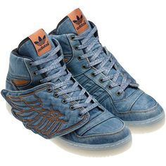The worlds most beautiful trainers by the one the only Jeremy Scott for Adidas Originals