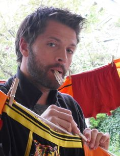 Ok, it's time to admit it. I love Misha Collins ♥