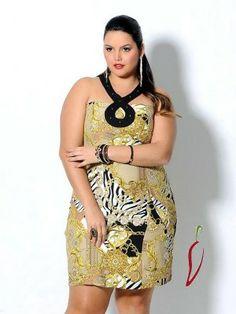 Vestido estampa lenço  spikes viscose 52 54 tamanhos grandes plus size gg