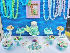 Disney Princess Ariel Ocean Under the Sea Girl Party Planning Ideas