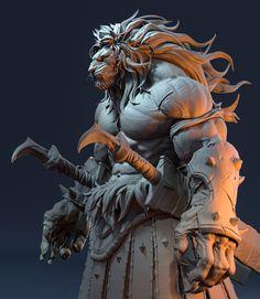 Character Creation, Fantasy Character Design, Character Design Inspiration, Character Art, Dungeons And Dragons Characters, Fantasy Characters, Fantasy Art Men, Lion Art, Fantasy Monster