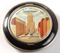 Cincinnati, Ohio Souvenir Compact