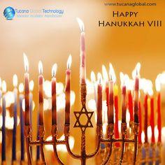 Happy Hanukkah VIII To All The Jews In Israel