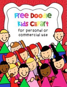 Free Doodle Kids Clip Art