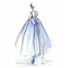 I'm excited to finally share the beginning of a dream project! @disneycinderella @tumblr have asked me to design a reimagined #Cinderella gown... I collaborated with my friend @valentina_kova on the design for dress which we will soon bring to life...with the help of a few friends! Will share much more soon... Check out my other design on cinderellapastmidnight.tumblr.com ✨