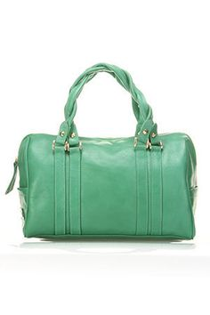Heather Hawkins Fever Bag In Wasabe.  Never had a purse this color, but I like it!