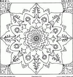 10 mandalas para bajar y colorear (2)