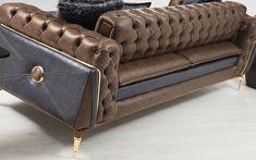 Bentley Koltuk Takımı - (3-3-1) Sofa Furniture, Luxury Furniture, Chesterfield Chair, Armchair, Curtain Designs, Construction, Sofa Design, Sofas, Accent Chairs