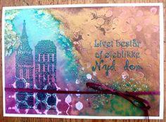 Dylusion ink og embossing