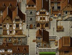 Medieval city by PinkFireFly on DeviantArt