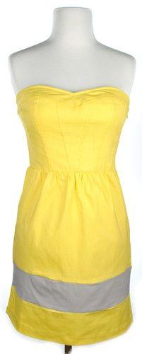 Simple Yellow  Gray