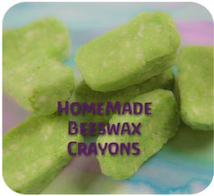 I am potentially interested in making my own crayons, particularly since I want to use beeswax to make some lip balm.