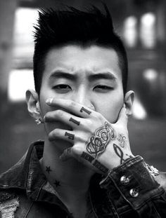 Incredibly gorgeous. ....Jay Park. ..
