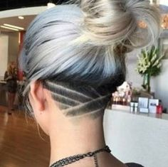 long hair female undercuts , Google Search