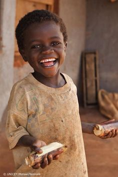 Smile for me! Africa
