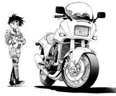 Manga Moto Girl