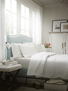 Light, airy and comfortable.