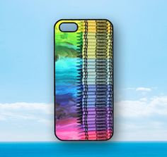 color crayon--  iphone 5 case,iphone 4 case,iPod 4 case,ipod 5 case,iphone 4S case,Samsung Galaxy S3, S4,Note 2 case ,Blackberry Z10 and Q10 on Etsy, $14.98
