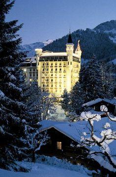 Gstaad Palace Hotel, Gstaad, Switzerland