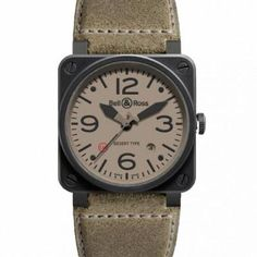Full details and images of the Bell & Ross BR 03 92 Desert Type Latest Mens Fashion, Men's Fashion, Bell Ross, Modern Man, Watch Brands, Watches For Men, Clocks, Type, Collection