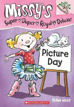 Missy's Super Duper Royal Deluxe #1: Picture Day (A Branches Book) by Susan Nees, http://www.amazon.com/dp/0545438519/ref=cm_sw_r_pi_dp_7dZ6rb0R6ZAN7