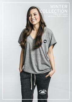 New Women's Fleece - loungewear or activewear, anywhere.