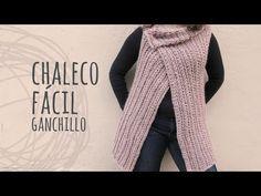 Tutorial Chaleco Fácil y Rápido a Ganchillo   Crochet - YouTube