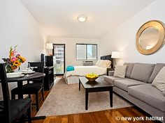 Perfect for students, interns, and young professionals, this #NYC rental #studio is right at the heart of the action: http://www.nyhabitat.com/new-york-apartment/furnished/16418