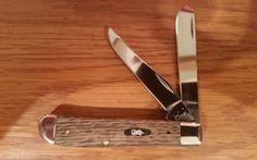 Case XX Antique River Log Mini Trapper Knife