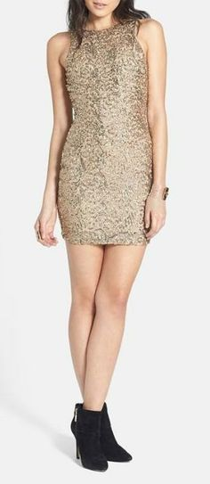 Sequins! The only requirement for a New Year's eve dress.