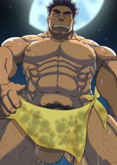 in your face Tom Of Finland, Muscle Bear, Bear Cartoon, Gay Art, Anime Comics, Iron Man, Hot, Beast, Batman