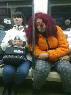 Weird Things You See While Riding The Subway  40 photos  Morably